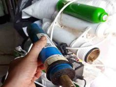 Máy lọc nước kangaoo trong quá trình sử dụng có mùi lạ tại sao