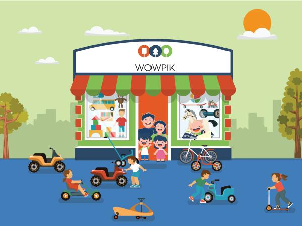 Wowpik Cửa hàng thuê đồ chơi định kỳ cho bé Hà Nội