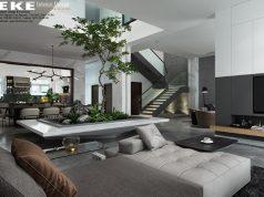 Nguyên tắc bố trí nội thất biệt thự hiện đại
